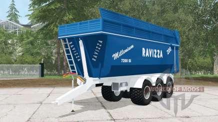Ravizza Millenium 7200 SI para Farming Simulator 2015