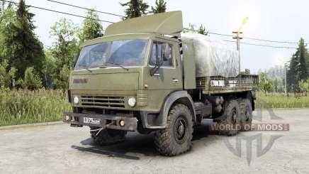Kamaz-4ろ10 para Spin Tires