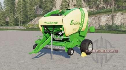Krone Fortima V 1ⴝ00 para Farming Simulator 2017