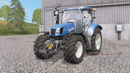 New Holland T6-serᶖes para Farming Simulator 2017