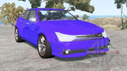 Ford Focus sedan (NA2) 2008 v1.4 para BeamNG Drive