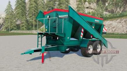 Sulky trailed fertiliser spreader para Farming Simulator 2017