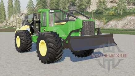 John Deere 948L-II winch para Farming Simulator 2017