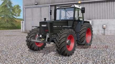 Fendt Farmer 310 LSA Turbomatik Negro Beautɣ para Farming Simulator 2017