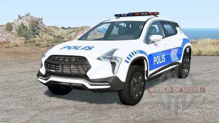 Cherrier FCV Turkish Police v1.1 para BeamNG Drive