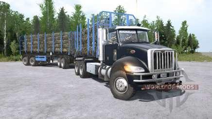 Peterbilt 330 6x6 para MudRunner