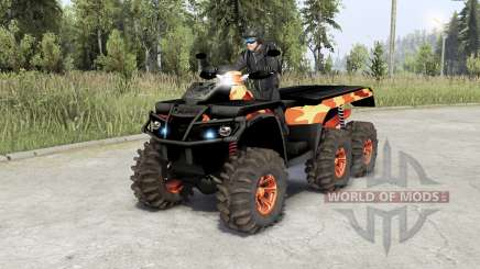 Can-Am Outlandeᵲ 6x6 para Spin Tires