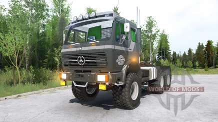 Mercedes-Benz NG 2632 (Br.395) 197Ꝝ para MudRunner