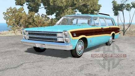 Ford Country Squire 1966 para BeamNG Drive
