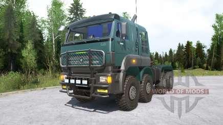 Kamaz-652Ձ8 para MudRunner