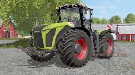Claas Xerion 4000〡4500〡5000 Traꞓ VC para Farming Simulator 2017