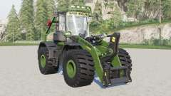 New Holland W190D with forestry cage para Farming Simulator 2017