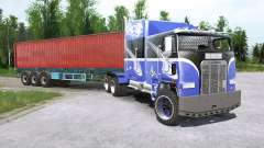 Freightliner FⱢA para MudRunner