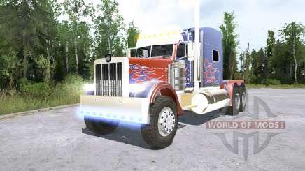 Peterbilt 389 Optimus Prime para MudRunner