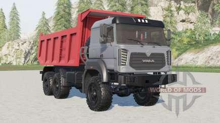 Ural 6370K-0121-30E5 para Farming Simulator 2017