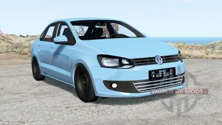 Volkswagen Polo sedan (Typ 6R) 2011 para BeamNG Drive