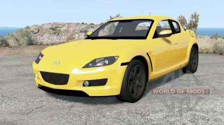 Mazda RX-8 2004 para BeamNG Drive