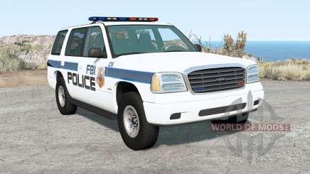 Gavril Roamer FBI Police para BeamNG Drive