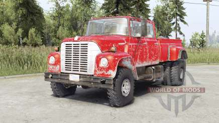 International Harvester Loadstar 1700 Crew Cab para Spin Tires