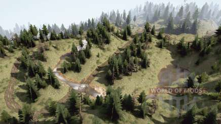 Arroyos de montaña para MudRunner