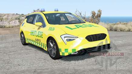 Cherrier FCV Danish Emergency Services para BeamNG Drive