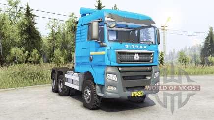 Sitrak C7H para Spin Tires