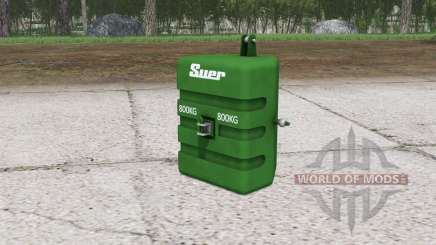Peso de suero ৪00 kg. para Farming Simulator 2015