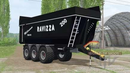 Ravizza Millenium 7200 ꞨI para Farming Simulator 2015