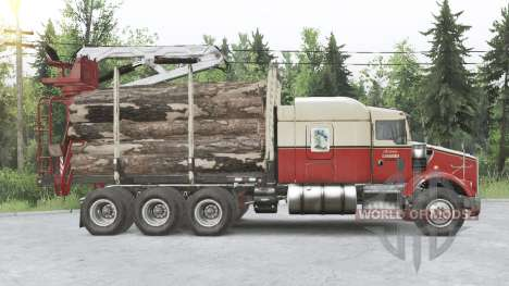 Kenworth T800 8x8 Chassis Cab para Spin Tires