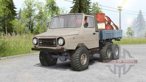 Luaz 13021 6x6 para Spin Tires