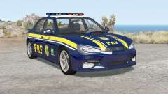 Hirochi Sunburst Brazilian PRF Police v1.1 para BeamNG Drive