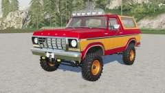 Ford Bronco Custom Wagon (U150) 197৪ para Farming Simulator 2017