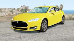 Tesla Model S 2012 para BeamNG Drive