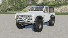 Ford Bronco Sport Wagon 1971 para Farming Simulator 2017