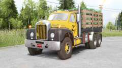 Mack B61 6x6 Chassis Cab para Spin Tires