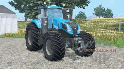 Nueva Hollaɳd T8.320 para Farming Simulator 2015