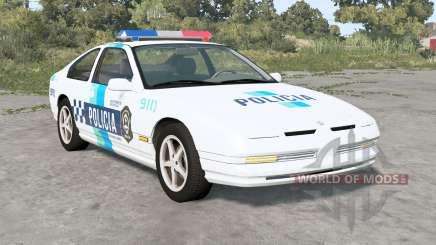 Ibishu 200BX Fuerzas de Seguridad de Argentina para BeamNG Drive