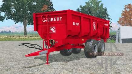 1ⴝ0 Gilibert BG para Farming Simulator 2015