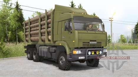 Kamaz 65225 para Spin Tires
