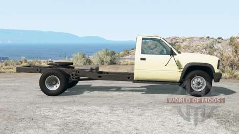 Gavril D-Series fifth wheel para BeamNG Drive