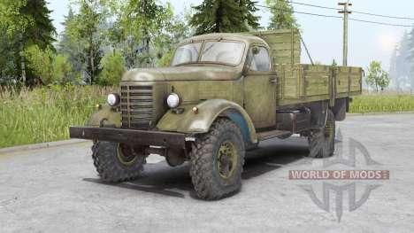 FAW Jiefang CA10 1956 para Spin Tires