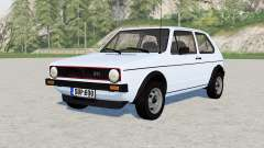 Volkswagen Golf GTI 3-door (Typ 17) 1976 para Farming Simulator 2017