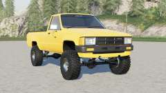 Toyota Hilux Single Cab 4WD 1983 para Farming Simulator 2017