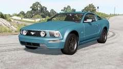 Ford Mustang GT 2005 v2.0 para BeamNG Drive