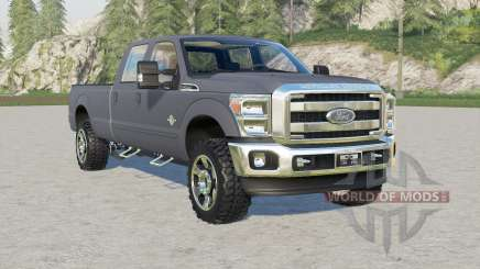 Ford F-350 Super Duty Crew Cab ೩011 para Farming Simulator 2017