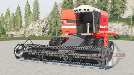 Massey Ferguson 5650 Advanceɗ para Farming Simulator 2017