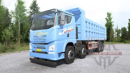 FAW Jiefang JH6 8x8 Dump Truck para MudRunner