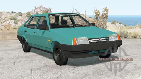 Vaz 21099 Samara 1992 para BeamNG Drive
