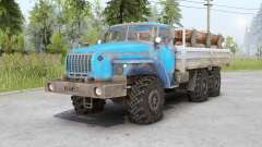 Ural 4320-10〡s cargas para Spin Tires