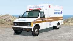 Gavril H-Series Generic Ambulance v2.0 para BeamNG Drive